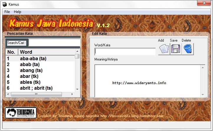 kamus bahasa jawa bahasa indonesia download kamus bahasa jawa bahasa