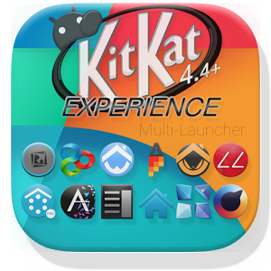 KitKat 4.4+ Launcher Theme 3.53 APK Download
