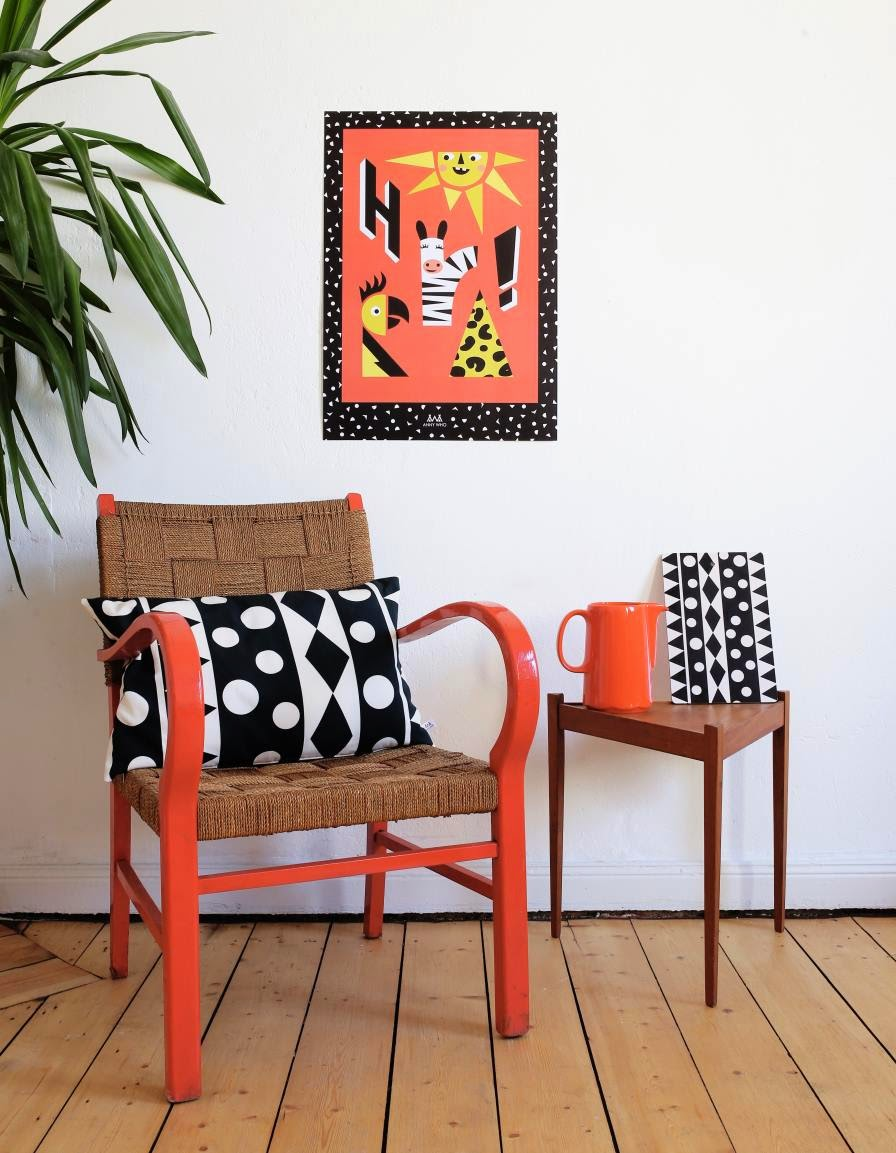 Funky home decor and poster by lifestyle brand Anny Who
