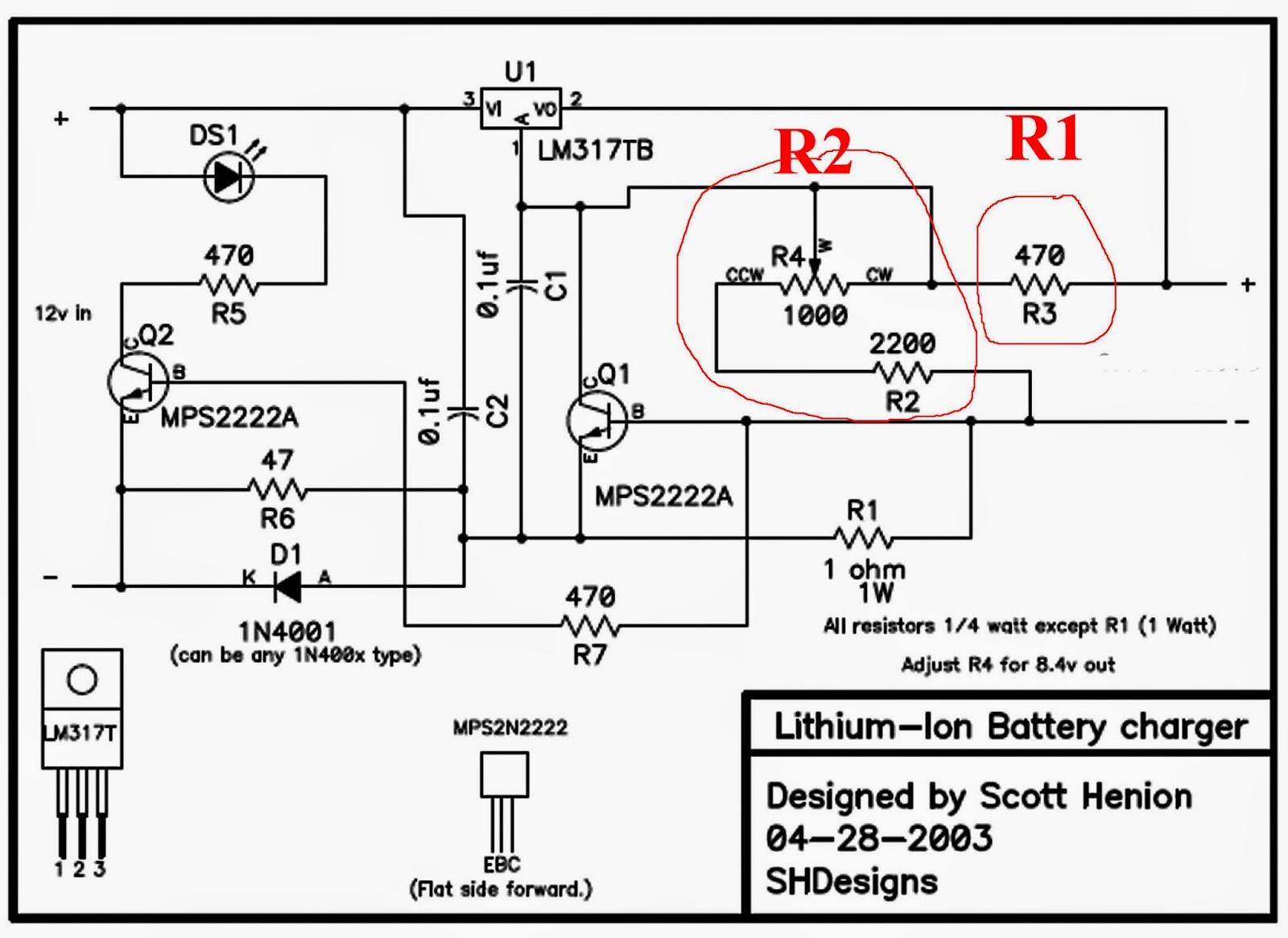elektronika analog membuat sendiri charger aki kering