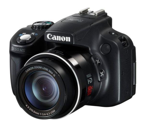 Nueva camara compacta Canon PowerShot SX50 HS