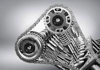 Vierventil-Technik mit kontinuierlicher Nockenwellenverstellung four-valve technology with continuous camshaft adjustment