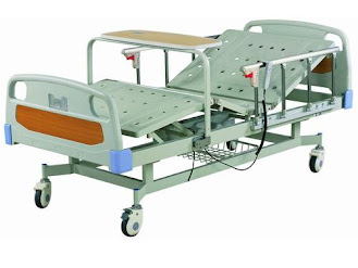 Electric high-low 3 function hospital bed