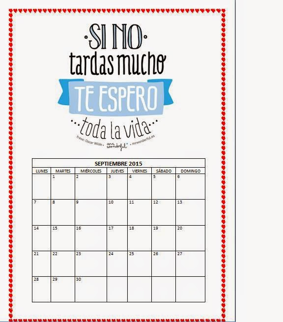 Capaz o incapaz.....: Calendario 2015- MR WONDERFUL