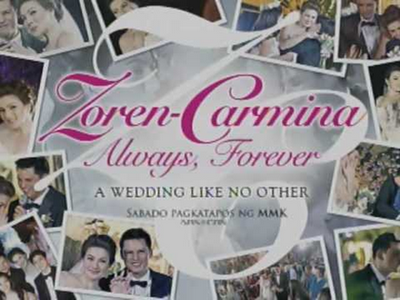Zoren-Carmina Always Forever A Wedding Like No Other November 24, 2012