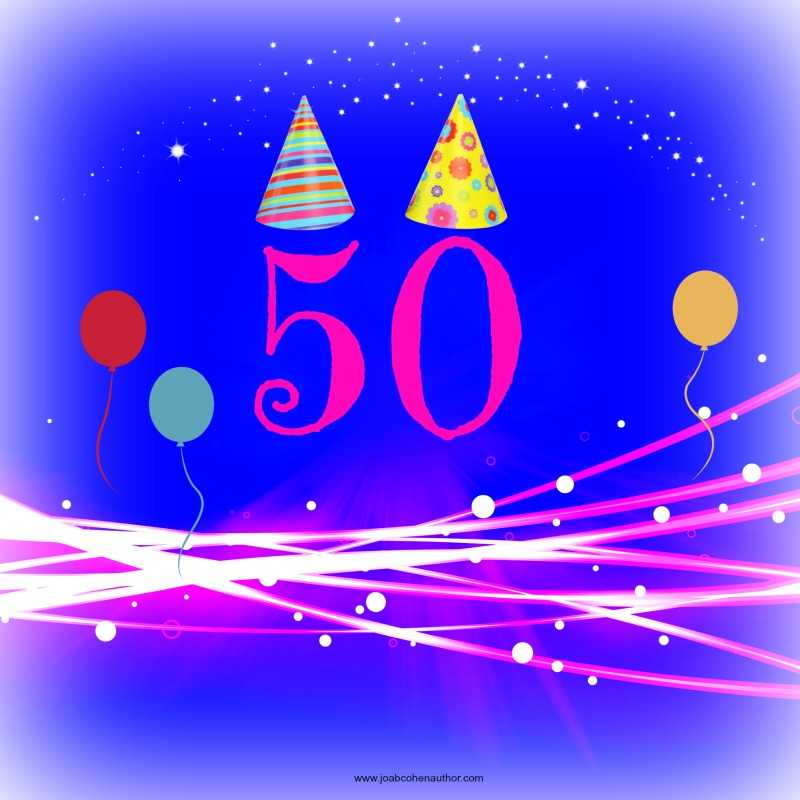 My first 50 posts celebration