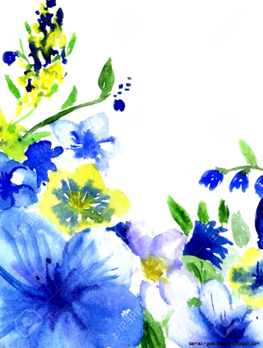 Yellow and blue flower white background amazing wallpapers view original size blue flower with white yellow star center isolated stock photo mightylinksfo