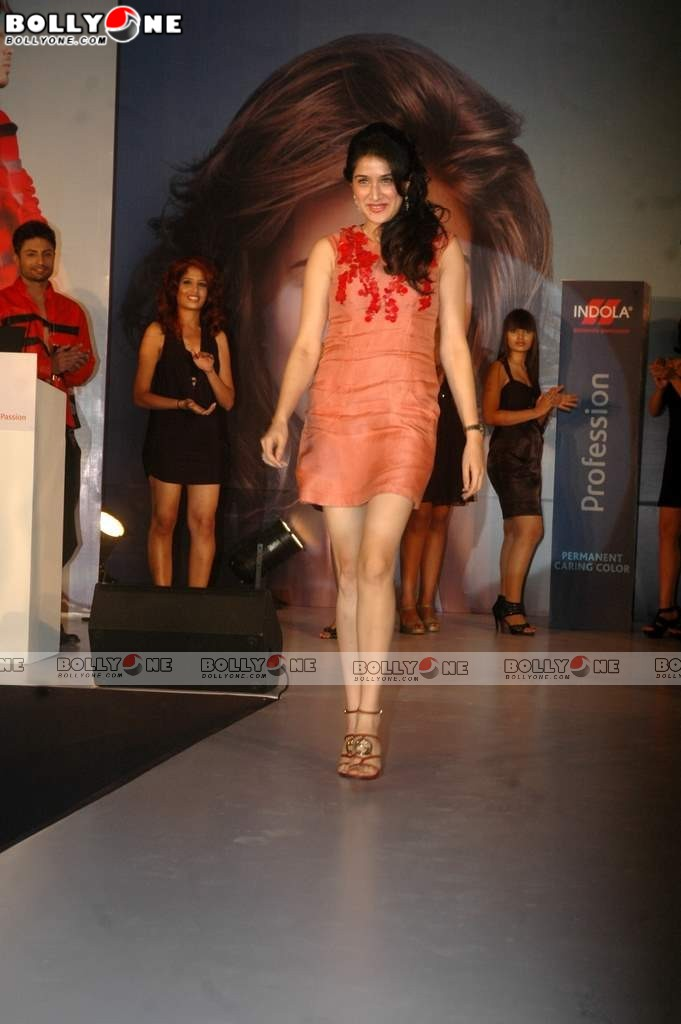 Sagarika Ghatge At Launch Of Indola Cosmetics