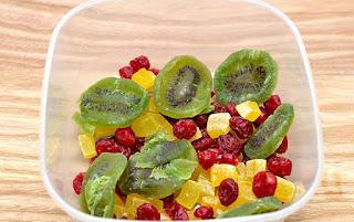 Frutas en Ron Blanco