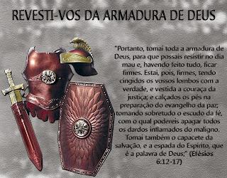 SER IGREJA É REVESTIR-SE DA ARMADURA DE DEUS