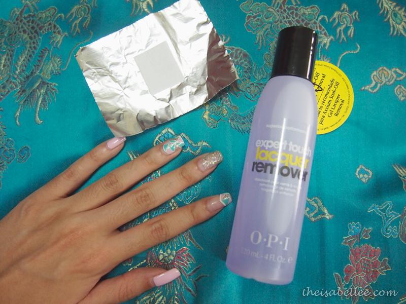 OPI set to remove nail polsih
