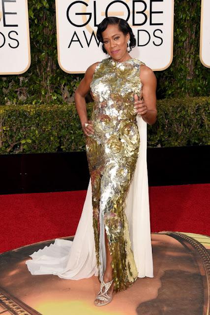 Regina King Krikor Jabotian Golden Globes 2016