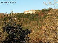 El Garet de Dalt des del Collet de la Guàrdia
