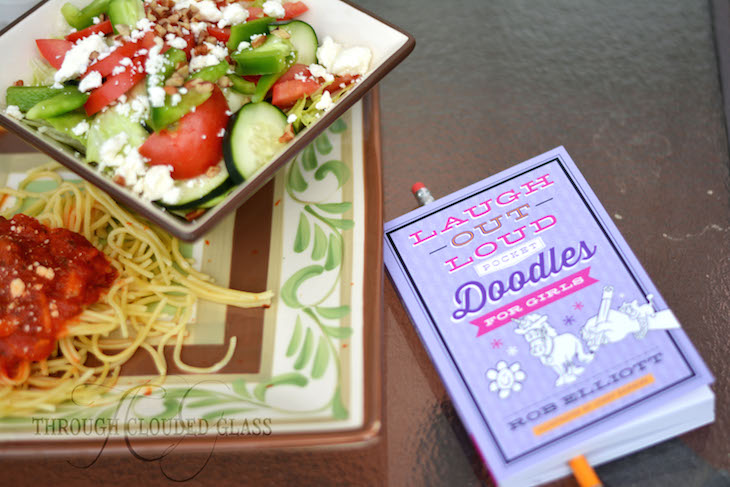 """Noodles And Doodles"" At-Home Date Idea 