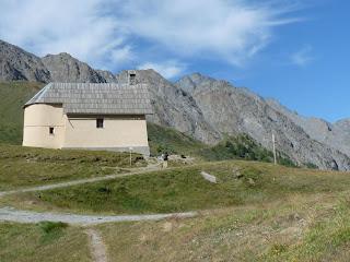 クロシス礼拝堂 chapelle de Clausis(2399m)