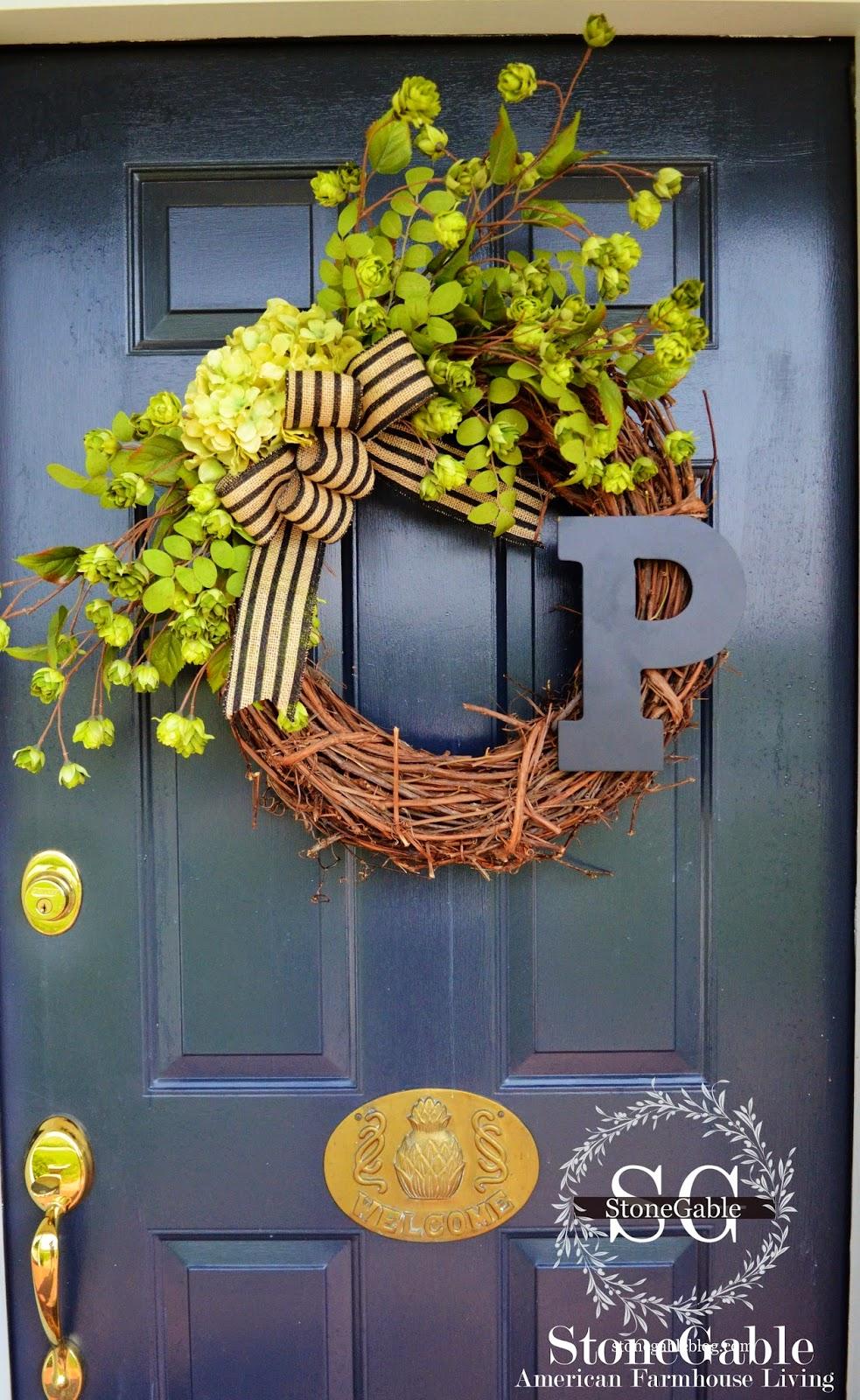 300 days of sunshine diy summertime wreath for Diy summer wreath