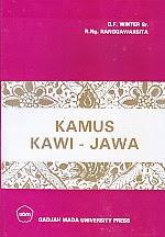toko buku rahma: buku KAMUS KAWI JAWA, pengarang winter, penerbit UGM Press