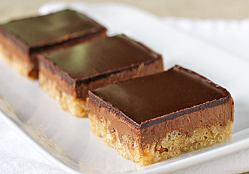 The Galley Gourmet: Chocolate Peanut Butter Crispy Bars