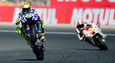 [Sport] Rossi: Honda dan Marquez Bikin Malu