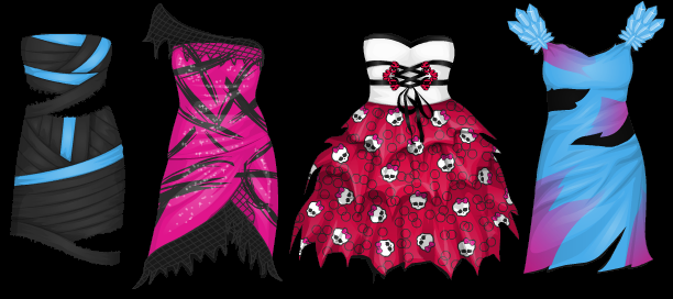 Stardoll Free Monster High Prom Dresses