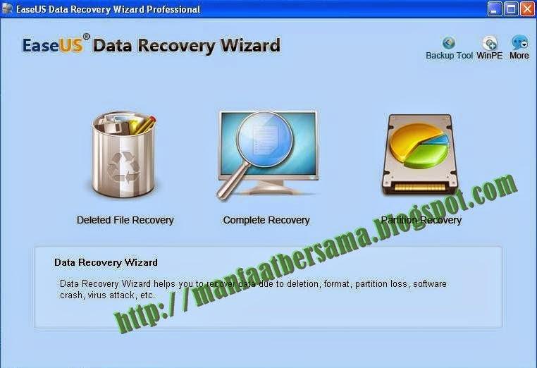 EASEUS DATA RECOVER PROFESIONAL 5.8 FULL