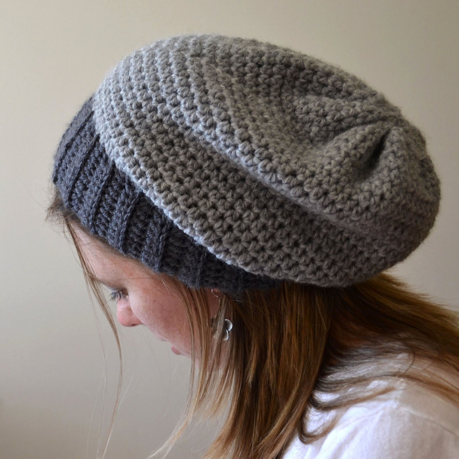Crochet Patterns Slouchy Beanie : Crochet in Color: January Giveaway