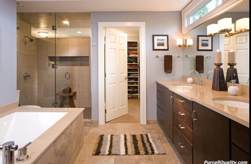Purcell quality the perfect master suite for Master bathroom suite designs