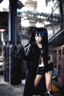 Black Rock Shooter cosplay, by Shera