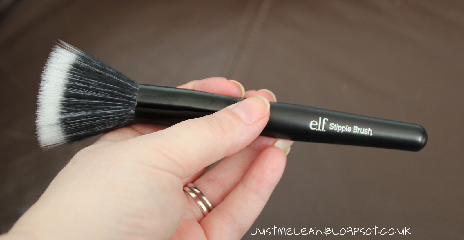 new elf brushes. i bought both the powder brush and stipple for liquid foundation. i\u0027ve seen quite a few bloggers rave on about applying new elf brushes