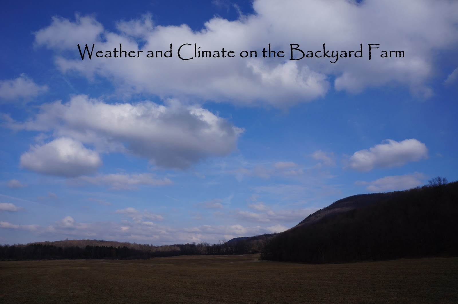 the backyard farming connection weather for the backyard farmer