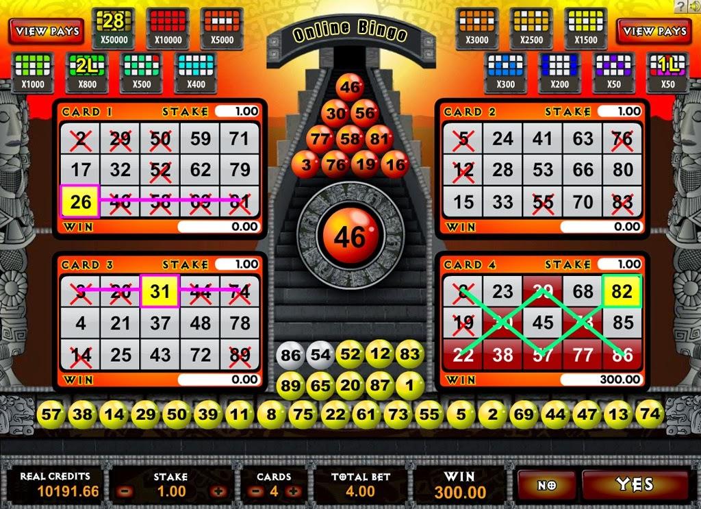 El Bingo Online, los bonos y promociones