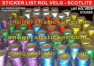 line sticker motor