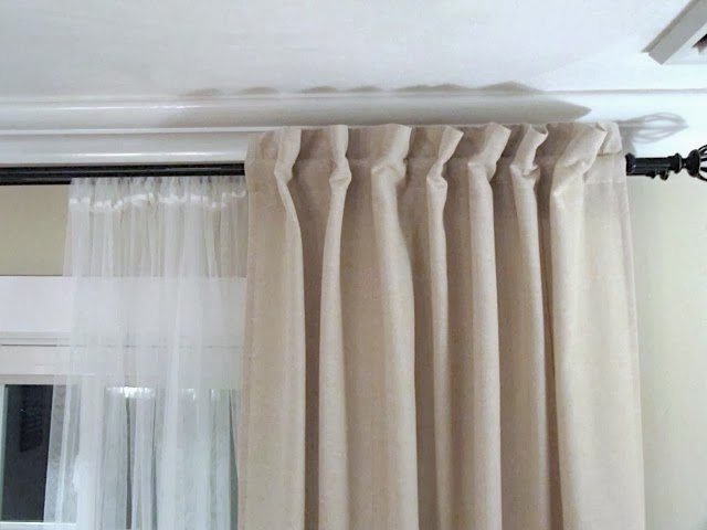 sew many ways how to turn tab top curtains to back tab. Black Bedroom Furniture Sets. Home Design Ideas