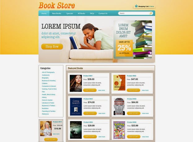 free download top best book store website templates helpers ways. Black Bedroom Furniture Sets. Home Design Ideas