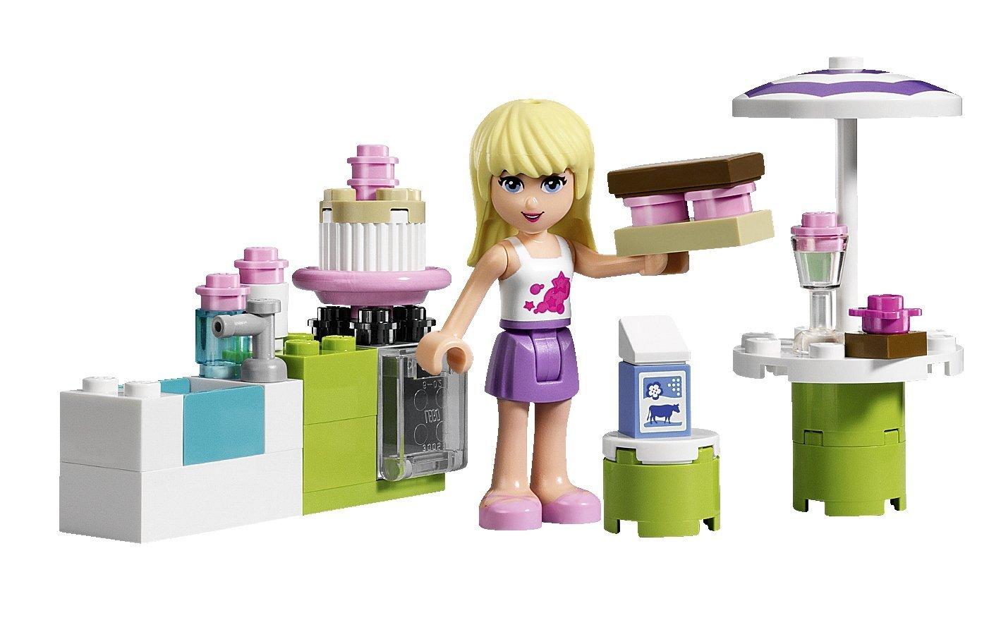 Lego Toys For Girls : My lego style friends stephanie s outdoor bakery