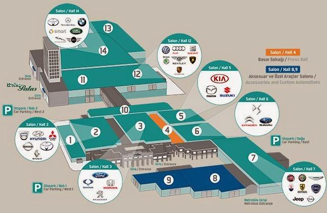 İstanbul Auto Show' a hangi otomobiller gelecek