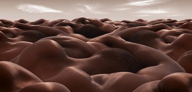 The Desert of Sleeping Men