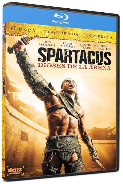 Spartacus Temporada 2 Dioses de la Arena HD 720p Latino