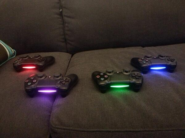 How to change ps4 controller light bar color fitama how to change ps4 controller light bar color aloadofball