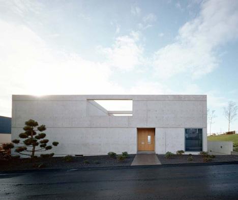 Acervo arquiholics casa minimalista de concreto aparente for Casa quinta minimalista