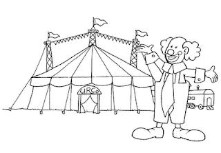 Desenhos Para Colorir o grande circo