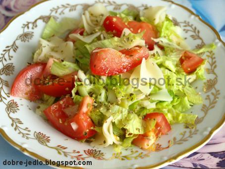 Diétny šalát - recepty
