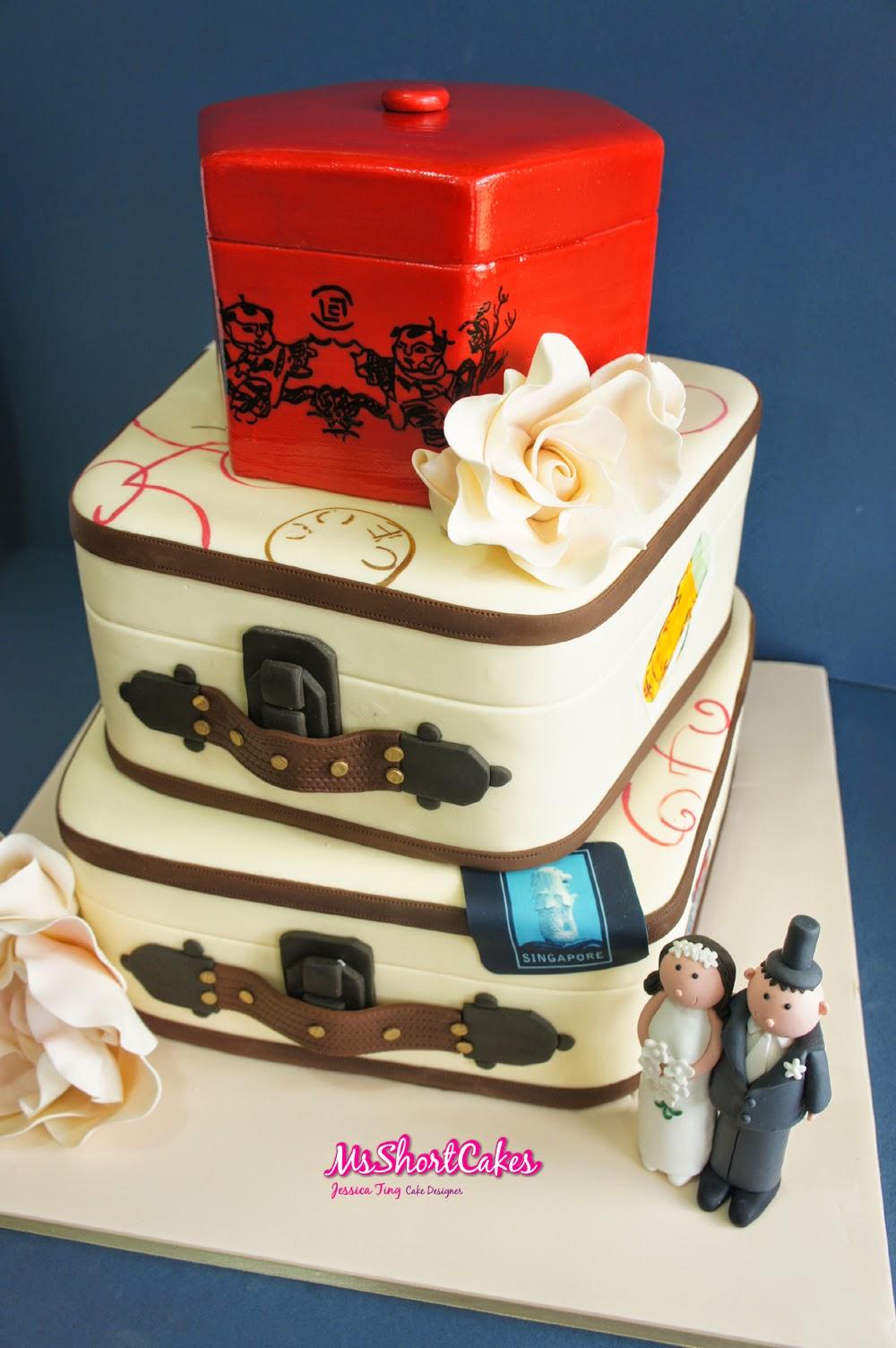 Wedding Around The World Theme Cakes Presta Wedding Blogs