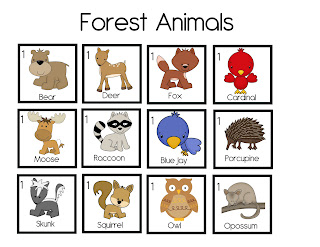 the crazy pre k classroom animal and habitat teaching ideas for pre k and a freebie. Black Bedroom Furniture Sets. Home Design Ideas