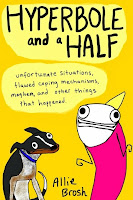 hyperbole and a half by allie brosh book cover