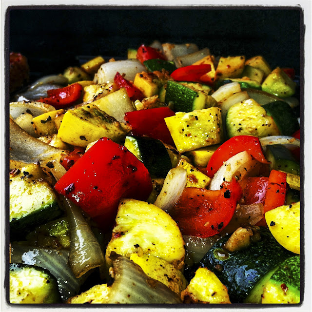 Grilled summer veggies  - RealSimplemeals.com