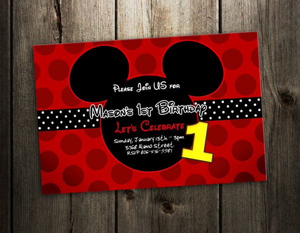 Mickey Mouse Birthday Images Free ~ Free printable mickey mouse birthday cards luxury lifestyle design architecture by