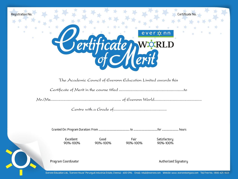 Certificate Of Merit Template Merit Certificate Templates Free – Merit Certificate Comments