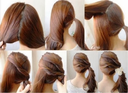 valentine day easy hairstyles