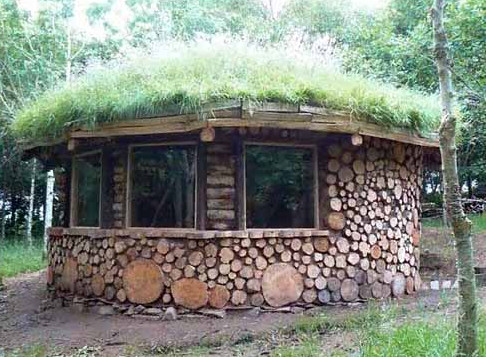 Дом своими руками из чурбаков